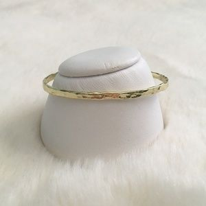 Gold Plated Cuff Bracelet NWT
